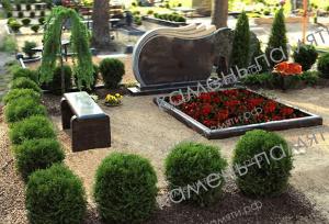 Цветники на могилу