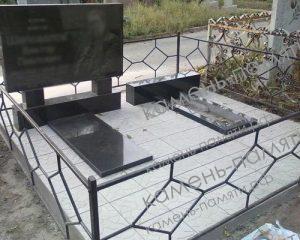 Сварные ограды на могилу